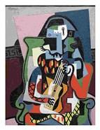 Harlequin Musician, 1924
