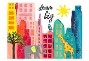 Dream Big Animals in the City