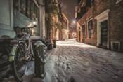 Winter Nighttime Street 1