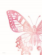 Pink Butterfly I