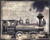 Vintage Boston Railroad