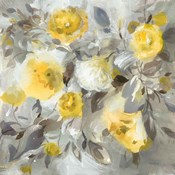 Floral Uplift Yellow Gray
