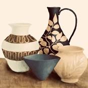 Decorative Beige Vessels I