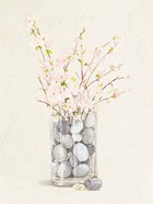 Spring Vase With Pebbles