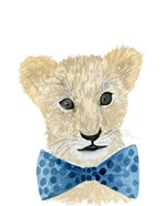 Lion With Bow Tie