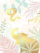 Golden Modern Safari I