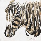Speckled Gold Zebra