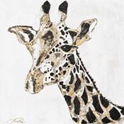Speckled Gold Giraffe