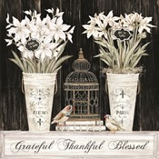 Grateful Thankful Blessed Still Life