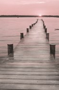 Pink Sunset at the Dock
