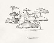 Rough Seaside Sketch I