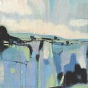 Abstract Shades of Blue I