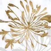 Golden Gilt Bloom I