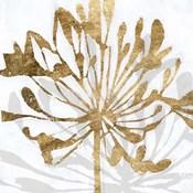 Golden Gilt Bloom II