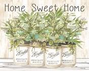 Home Sweet Home Ball Jars