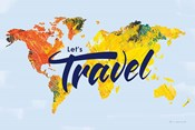 Lets Travel World Map