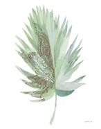 Boho Tropical Leaf IV Green