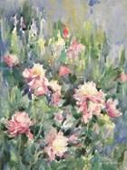Watercolor Garden of Roses