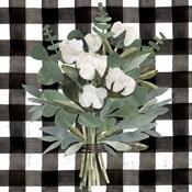 Buffalo Check Cut Paper Bouquet I