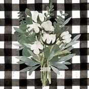 Buffalo Check Cut Paper Bouquet II