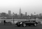 Vintage Spyder in NYC (BW)