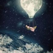 The Moon Carries Me Away