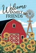 Welcome Family & Friends Barn