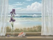 Irises on Windowsill