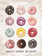 Donut Worry - Be Happy