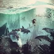 The Sea Unicorn Lady