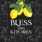 Live with Zest sentiment I-Bless this Kitchen