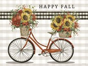 Happy Fall Bicycle