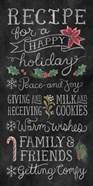 Christmas Chalk IX