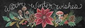 Christmas Chalk Winter Wishes