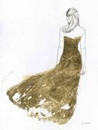 Gold Dress I