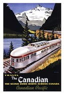 Canadian Pacific Train 1955