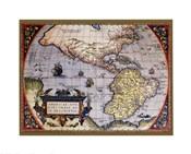 Map of North America I