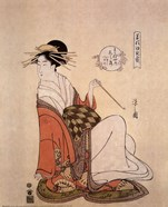 Courtesan Shiratsuyu