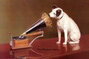 His Master&#39;s Voice Advertisement