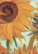 Vase with Twelve Sunflowers, .c1888 (detail)