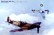Airplane Spitfire Mk-9