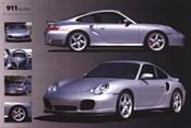 Porche 911 Turbo Silver