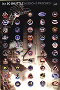 Space Shuttle Missions Patches