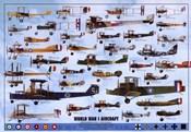 World War I Aircraft - blue