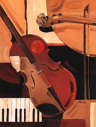 Abstract Violin