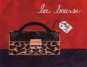 Leopard Handbag I