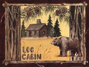 Log Cabin Bear
