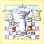 Yellow Bathroom - Sink