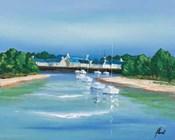 Port Breton - Voiliers Blancs
