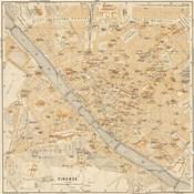 Mapa Di Firenze, 1896